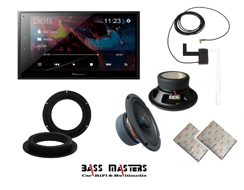 BASS MASTERS Komplett-Soundsystem Upgrade - Uni